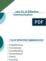 7 C's Communication
