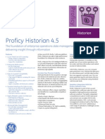 Proficy Historian 4.5 Ds Gfa1708a