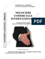 Negociere Comerciala Internationala III AI