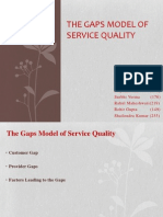 Group 4_The Gaps Model of Service Quality