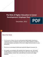 The Role of Higher Education in Career Development