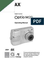Manual Pentax m20