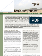 How GM Crops Hurt Farmers