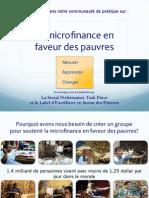 Poverty-focused CoP Mar 6, 2013 (Français)