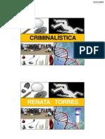 CRIMINALÍSTICA - AULA 01a