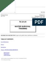tc 21-21 water survival