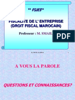 Cours Fiscalite