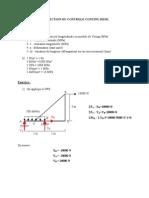 h3 Tc Meca. Statique Et Rdm Correction Controle Continu Correction 1605