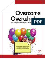 Overcome Overwhelm - 5Steps to Make Your Event Idea Magic