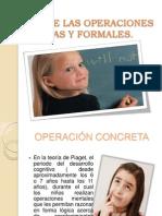 Operaciones Concretas y Formales (Libro 1)