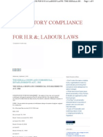 Statuatory Compliance