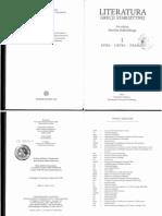Podbielski.literatura Grecji Starozytnej I