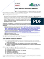OSHA Inspection CranesFactSheet 01 Spanish