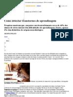 Como detectar transtornos de aprendizagem - ÉPOCA _ Sociedade