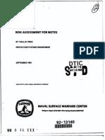 A 250659 risk assessment