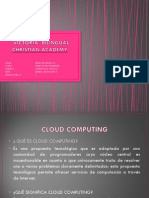 Cluod Computing