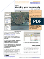 One Page Guide to Community Mapping with Google Earth