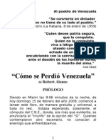 COMO SE PERDIO VENEZUELA