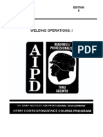 US Army Welding Operations I