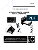 Army Electronics Intro to Logical Troubleshoot