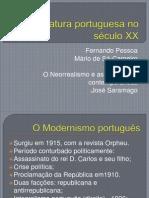 A literatura portuguesa no século XX