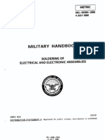 US DOD Soldering Electronics