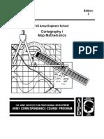 Army Engineer Cartography I Map Mathematics