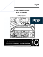 Army Engineer Cartography IX Map Overlays