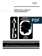 Army Engineer Intelligence & Recon