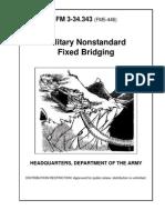 Army Engineer Mil. Nonstandard Fixed Bridging