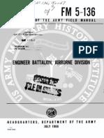 Army Vietnam Engineer Battalion Airborne Div