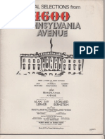 1600 Pennsylvania Avenue - Vocal Selections
