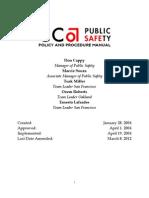 Policy & Procedure Manual