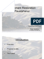 Porirua Harbour Seminar Series - Pres 6 - GWRC Presentation on Pauatahanui Revegetation