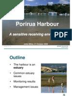 Porirua Harbour Seminar Series - Pres 3 - GWRC Presentation on Harbour Health