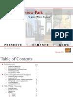 Fairview Park Master Plan 2012