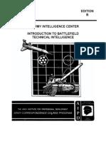 Army Intro to Battlefield Tech Intelligence