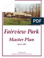 Fairview Park Master Plan 1999