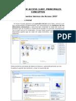 Manejo de Access 2007