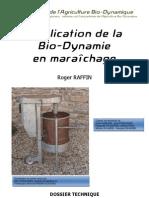 Application de la Bio-Dynamie en maraîchage