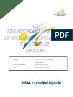 Campeonato Fútbol Playa Damas 2013
