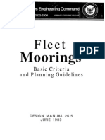 Fleet Moorings - Dm26_5