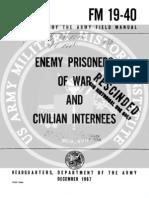 Army Vietnam Enemy Prisoners and Civillian