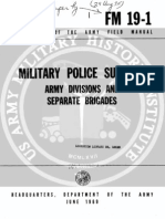 Army Vietnam Military Police Support