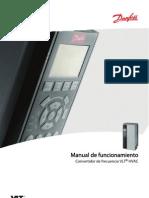 3 Manual de Funcionamiento Convertidor de Frecuencia VLT HVAC Danfoss
