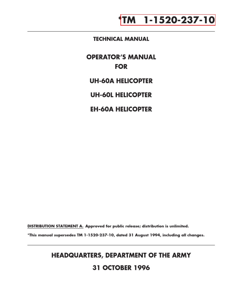Op Manual Uh 60a 60l Eh Helicopter Sikorsky 60 Black Cool Cold Ice2 Cooling Pad 156 Inch Hawk Electromagnetic Radiation