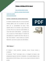 Historia y Versiones Del Sistema Operativo Mac