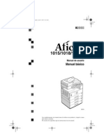 Manual Del Usuario Aficio 1015-1018