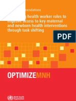 Optimizing Health Worker Roles