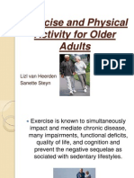 Exercise and Physical Activity for Older Adults (Powerpoint)